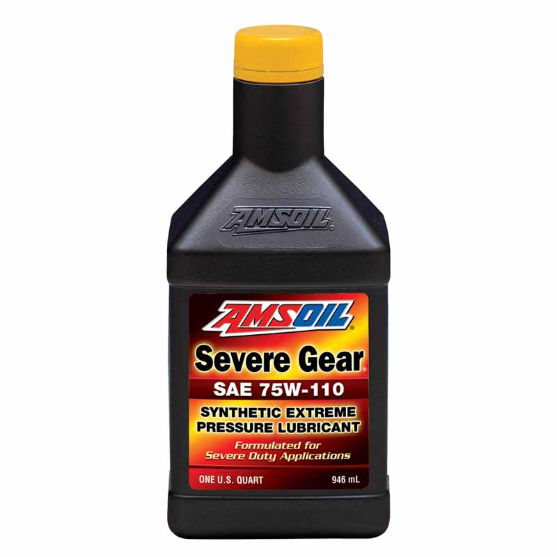 AMSOIL Severe Gear Synthetic Gear Oil