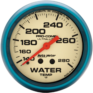 AutoMeter Ultra-Night Water Temp Gauge