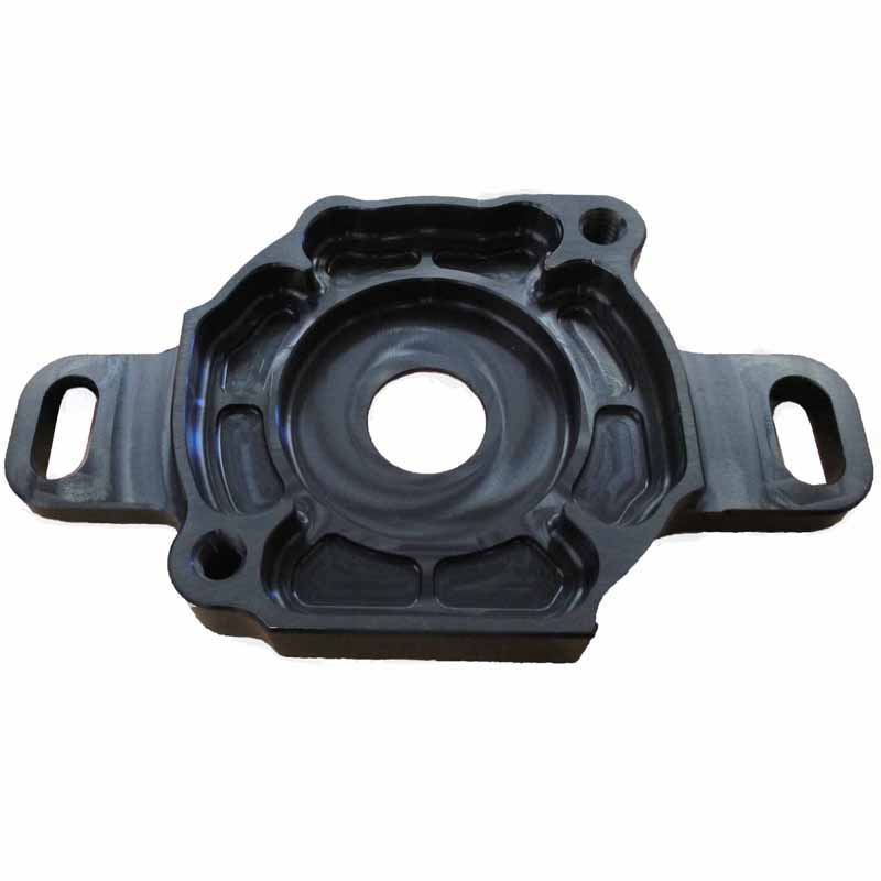 Wide Pump Adaptor/ Mount Black