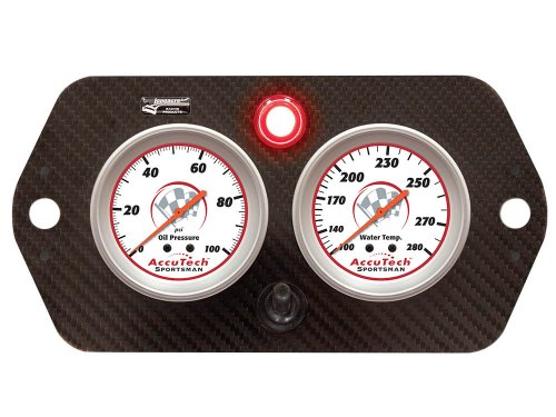 Sprint Gauge Panel Carbon Fiber
