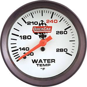 Quick Racing Water Temp Gauge
