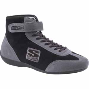 Simpson Mid Top Shoe Gray/Blk