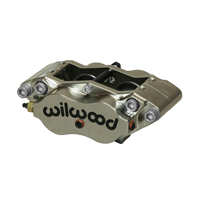 Billet Dynalite Radial Mount Caliper-Nickel